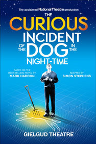 The Curious Incident of the Dog in the Night-Time on Stage at the Gielgud Theatre in London