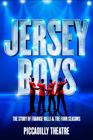 Jersey Boys on Stage at the Piccadilly Theatre in London