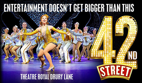 42nd Street at Theatre Royal Drury Lane tickets