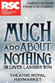 Much Ado About Nothing on Stage at the Theatre Royal Haymarket in London