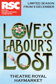 Love's Labour's Lost on Stage at the Theatre Royal Haymarket in London