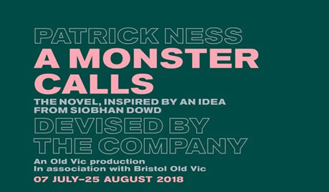 A Monster Calls at Old Vic Theatre tickets
