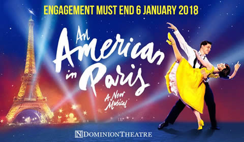 An American in Paris at Dominion Theatre tickets
