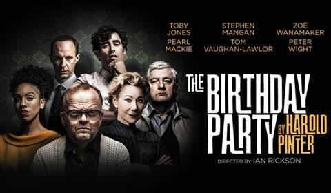 The Birthday Party at Harold Pinter Theatre tickets