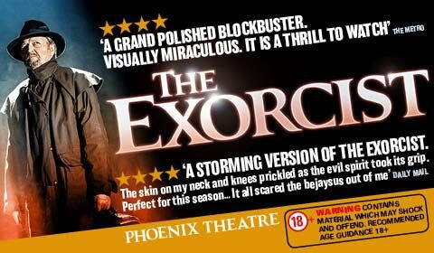 The Exorcist at Phoenix Theatre tickets