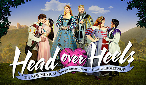 Head Over Heels at Hudson Theatre tickets