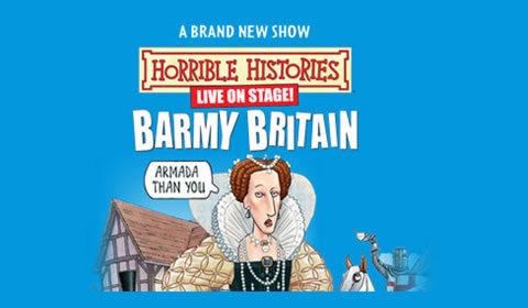 Horrible Histories - Barmy Britain Part 2 at Garrick Theatre tickets