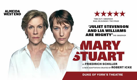 Mary Stuart at Duke of York's Theatre tickets