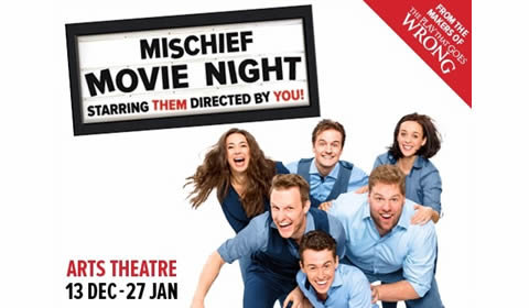 Mischief Movie Night at Arts Theatre tickets