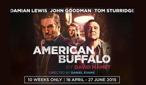 American Buffalo at Wyndham's Theatre tickets