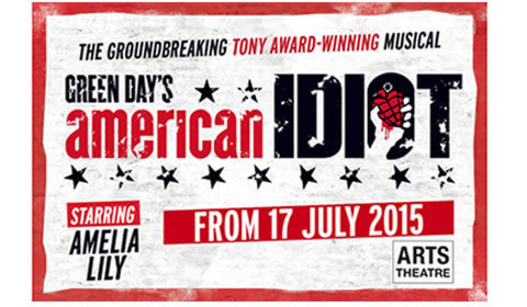 American Idiot at Arts Theatre tickets