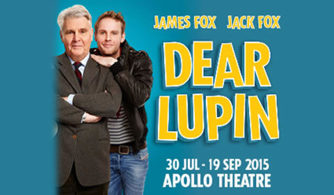 Dear Lupin at Apollo Theatre tickets