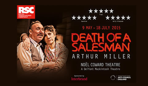 Death of a Salesman at Noel Coward Theatre tickets