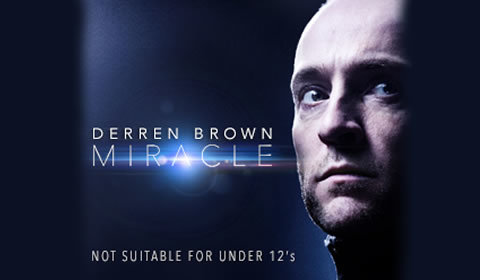 Derren Brown Miracle at Palace Theatre tickets