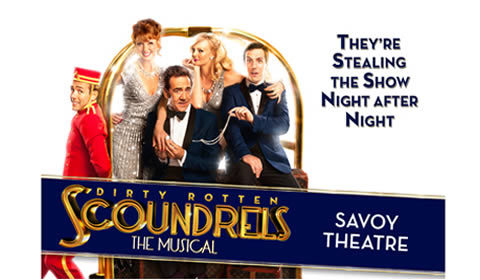 Dirty Rotten Scoundrels at Savoy Theatre tickets