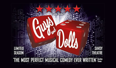 Guys and Dolls at Savoy Theatre tickets