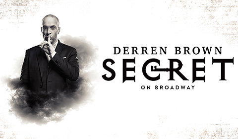 Derren Brown: Secret at Cort Theatre tickets