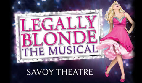 Legally Blonde at Savoy Theatre tickets