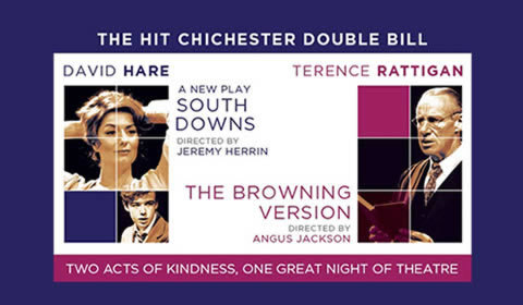 South Downs and The Browning Version at Harold Pinter Theatre tickets
