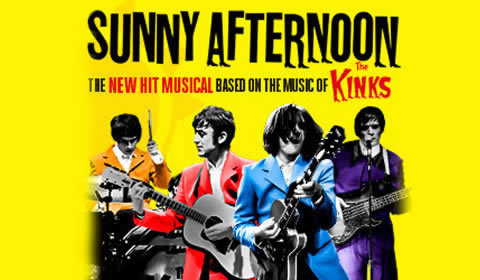 Sunny Afternoon at Harold Pinter Theatre tickets