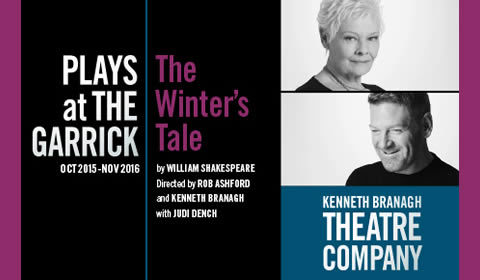 The Winter's Tale at Garrick Theatre tickets