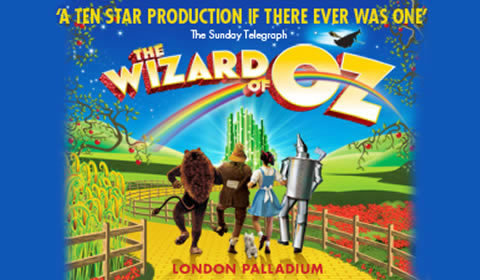 The Wizard Of Oz at London Palladium tickets
