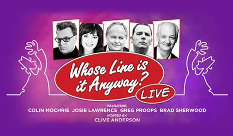 Whose Line is it Anyway? Live at Adelphi Theatre tickets