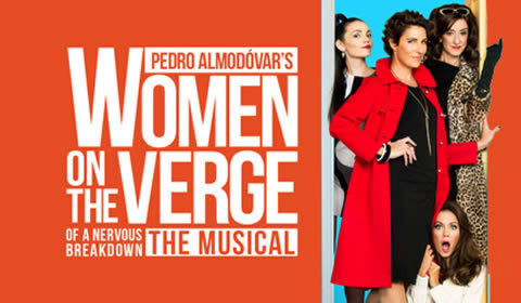 Women on the Verge of a Nervous Breakdown at Playhouse Theatre tickets