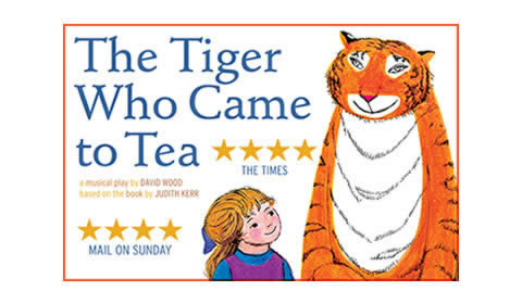 The Tiger Who Came To Tea at Lyric Theatre tickets