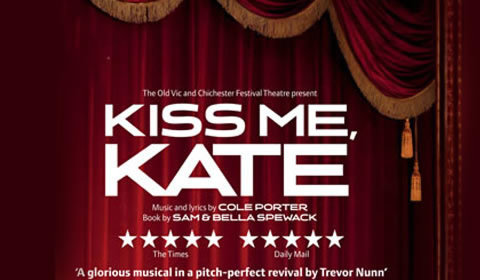 Kiss Me, Kate at Old Vic Theatre tickets