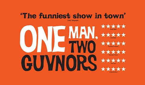 One Man, Two Guvnors at Theatre Royal Haymarket tickets