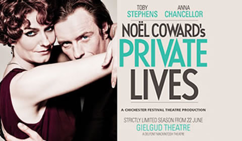 Private Lives at Gielgud Theatre tickets