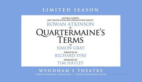 Quartermaine's Terms at Wyndham's Theatre tickets