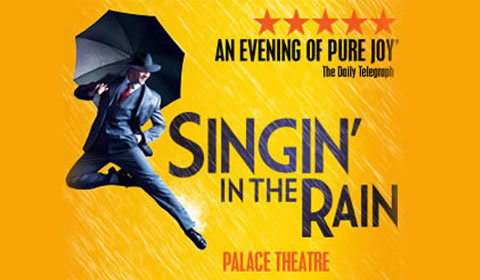 Singin' In The Rain at Palace Theatre tickets
