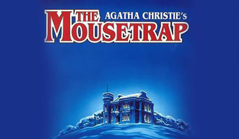 The Mousetrap Logo & Poster - St Martin's Theatre, London