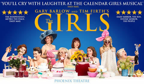 The Girls at Phoenix Theatre tickets