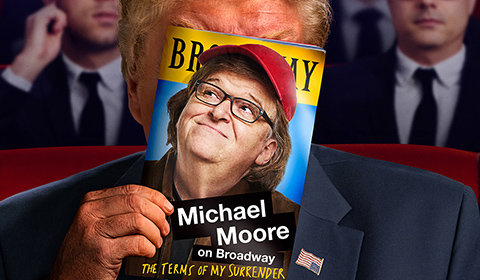 Michael Moore on Broadway: The Terms of My Surrender at Belasco Theatre tickets