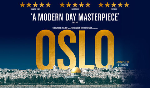 Oslo at Harold Pinter Theatre tickets