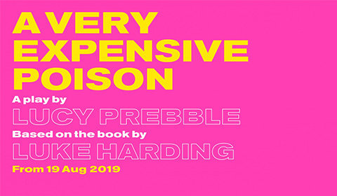 A Very Expensive Poison at Old Vic Theatre tickets
