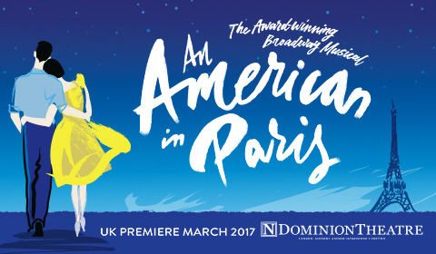 An American in Paris at the Dominion Theatre, London