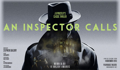 a review of the play an inspector calls by the garrick theatre london Buy face value young frankenstein tickets from the garrick theatre london include of jb priestley's an inspector calls opened at the garrick.