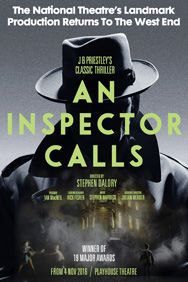 An Inspector Calls on Stage at the Playhouse Theatre in London