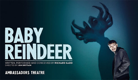 Baby Reindeer at Ambassadors Theatre tickets
