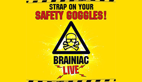 Brainiac Live! at Garrick Theatre tickets