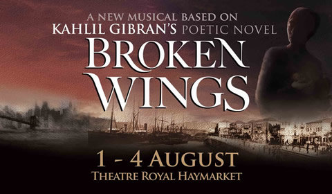 Broken Wings at Theatre Royal Haymarket tickets