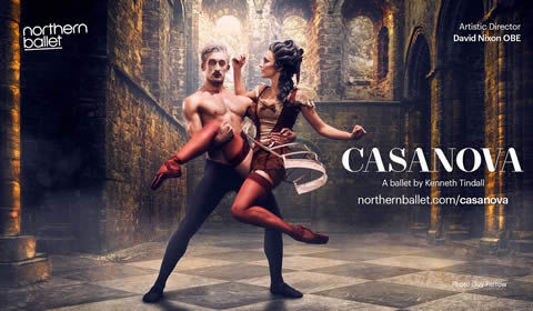 Northern Ballet - Casanova at Sadler's Wells tickets