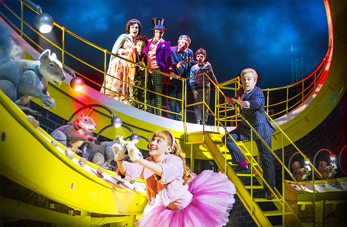 charlie and the chocolate factory london reviews seatplan  charlie and the chocolate factory west end musical