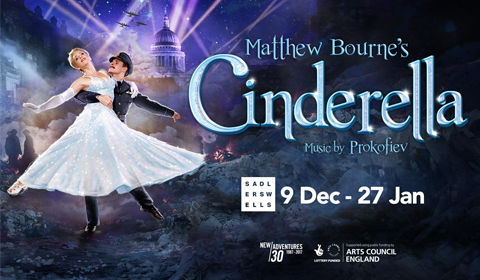 Matthew Bourne's Cinderella at Sadler's Wells tickets