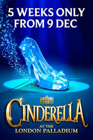 Cinderella on Stage at the London Palladium in London
