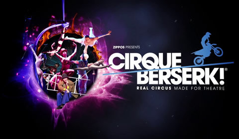 Cirque Berserk at Harold Pinter Theatre tickets